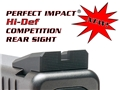 Dawson Glock Hi-Def Competition Rear Sight