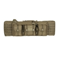Voodoo Tactical Enhanced 36-inch MOLLE Soft Rifle Carrying Case, Padded, Coyote
