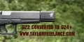 Taylor Freelance Glock 40 Sight Block