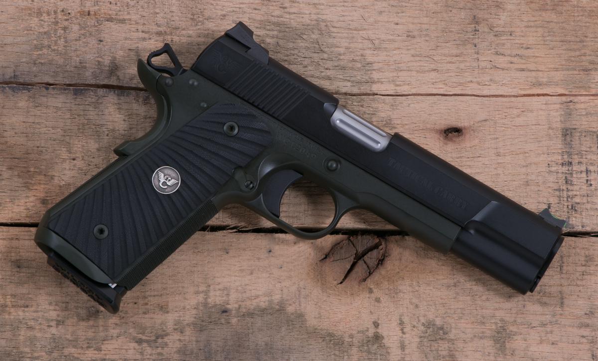 Wilson Combat Tactical Carry 45 Acp Od Green Blk