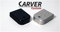 CARVER Custom Tactical Base Pads for Glock