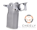 Cheely Custom E2 Extra Agressive Grip Kit – Stainless