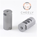 Cheely Custom Titanium 5 Port Compensator