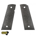 ERGO XTR SQUARE BOTTOM HARD RUBBER 1911 GRIP (BLACK)