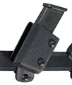Safariland 771 Competition Single Magazine Holder, Black, Plain, for 1.5-Inch Belt