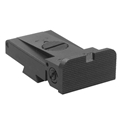 Kensight ® Target 1911 Sights Trijicon Tritium insert - Rear Night Sight with Rounded Blade - Fits LPA ® TRT ™ Sight Dovetail Cut