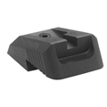 Kensight (DFS) 1911 Sights Fixed Rear Combat Sight, Recessed Blade - Fits Novak LoMount Sight Dovetail Cut