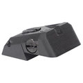 Kensight ® (DAS) 1911 Sights Fully Adjustable Rear Combat Sight, Serrated Blade - Fits Novak ® LoMount ™ Sight Dovetail Cut