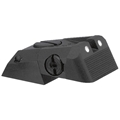 Kensight (DAS) 1911 Sights Adjustable Rear Combat Sight White Dot, Serrated Blade - Fits Novak LoMount Sight Dovetail Cut