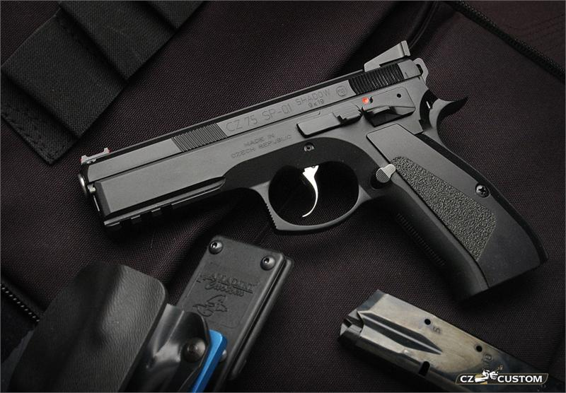 CZ 75 SP01 Shadow Custom BLACK 9mm