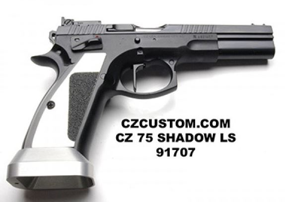 CZ 75 CTS LS SAO 9mm BLACK