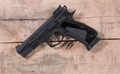 CZ 75 SHADOW Custom  Black 9mm Adjustable Rear