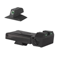Kensight Kimber Adjustable Kensight 1911 Sight Set Trijicon Tritium insert - Night Sights - matching Front Sight