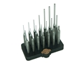 GRACE USA 21 Piece Steel Punch Set with Bench Block