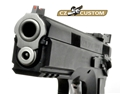 CZ 75 SP01 ACCU Shadow 9mm Black Adjustable Rear Sight