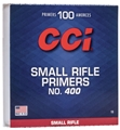 CCI #400 Standard Rifle Primer Small Rifle *In store Pick Up Only
