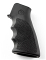 Hogue AR-15 / M16: OverMolded Rubber Grip with Finger Grooves - Black