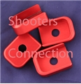 Double Tap Aluminum Base Pad - Red