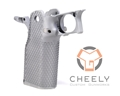 Cheely Custom E2 Aggressive Grip Kit – Stainless Double Undercut