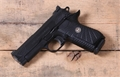 Wilson Combat EDC X9 Black Grips Night Sights