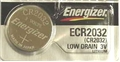 Energizer CR2032 Lithium 3 volt Battery **Can not ship AIR