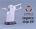 Cheely Custom  Legacy Grip Kit - Stainless