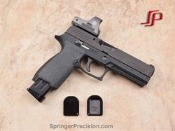 Springer Precision SIG P320/P250 9/40 21Rd Mag EZ 140mm Basepads Black