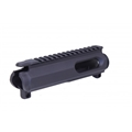 Guntec AR15 9MM Dedicated Stripped Billet Upper Receiver - Black