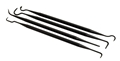 DAA 4-pcs Plastic Hook Set