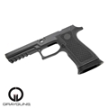GRAYGUNS Laser-Sculpted P320 Tungsten-Infused Grip Module