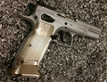 Henning Tanfoglio Limited/Gold Checkered Contour Grip