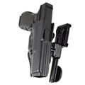 Safariland Open Top Concealment Belt Slide Holster with USPSA kit Model 5197 Right hand