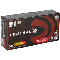 Federal Syntech Action Pistol 9mm 124GR