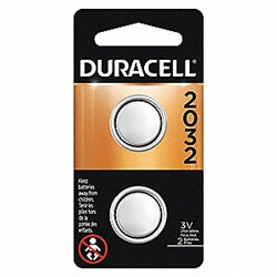 Duracel CR2032 Lithium 3 volt Battery 2 Pack  **Can not ship AIR