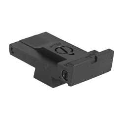Kensight Fully Adjustable Rear Sight fits CZ-75 and 85, Squared Blade w/Serrations