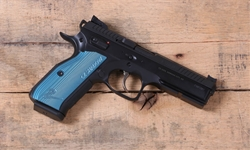 CZ 75 SHADOW 2 Custom Trigger / Tuned Blue