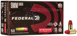Federal Syntech 9mm Luger 130GR