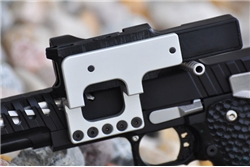 Cheely Custom C-More Scope Mount-Silver