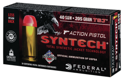 Federal Syntech Action Pistol 40 S&W 205 GR