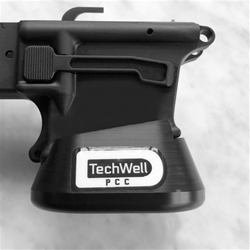 Techwell PCC Magwell Black Creek Precision for GLK-F 9mm Glock Mag