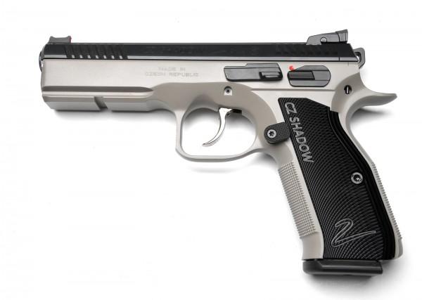 Cz 75 Shadow 2 Custom Trigger Tuned Urban Grey
