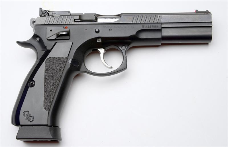 Cz 75 Cts Ls P Sa Da Black 9mm